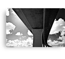Concrete Sky 40 Canvas Print
