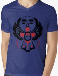 Ohpahopisim - Flying up Moon Mens V-Neck T-Shirt