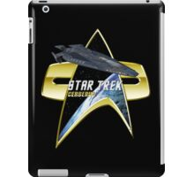 StarTrek Cerberus  Com badge iPad Case/Skin