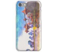 Sea panorama iPhone Case/Skin