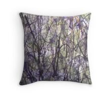 Abstract Bushes Throw Pillow