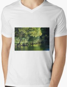 The Pond... Mens V-Neck T-Shirt