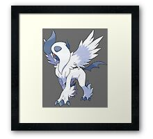 pokemon mega absol anime manga shirt Framed Print