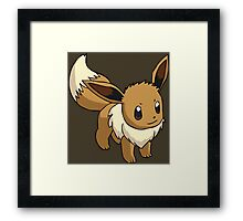 pokemon eevee anime manga shirt Framed Print