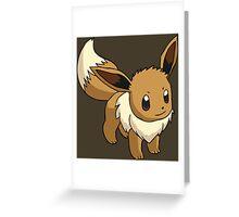 pokemon eevee anime manga shirt Greeting Card