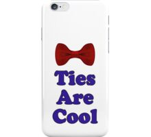 Who Says - Bow Ties Are Cool - Doctor Orders T-Shirt Sticker iPhone Case/Skin