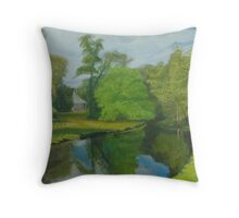 Capability Green (cards) Throw Pillow