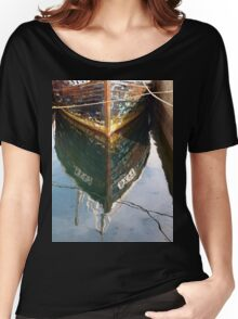Stornoway Boat Reflection Women's Relaxed Fit T-Shirt