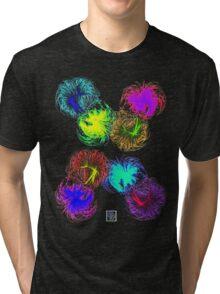 """Laniakea and Perseus-Pisces Superclusters""© Tri-blend T-Shirt"