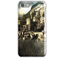 Lake castle iPhone Case/Skin