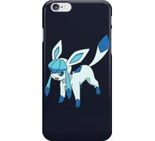 pokemon glaceon eevee anime manga shirt iPhone Case/Skin