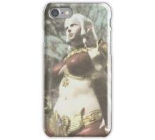 Elf girl iPhone Case/Skin