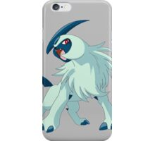 pokemon absol anime manga shirt iPhone Case/Skin