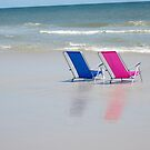 Beach Chairs by Linda Bennett