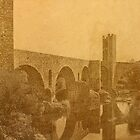 The Old Bridge - Besalú, Catalonia, Spain by Nigel Fletcher-Jones