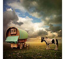 Gypsy Wagon Photographic Print