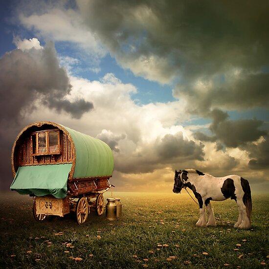 Gypsy Wagon by Binkski