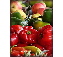 Fruits and Veggies Photographic Print