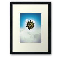 Tiny Planet Framed Print