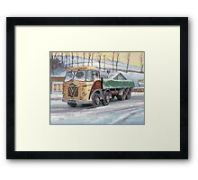 Foden S20 at the Jungle cafe Framed Print