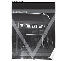 VNDERFIFTY WHERE ARE WE Poster