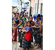 Mayan Celebration Photographic Print