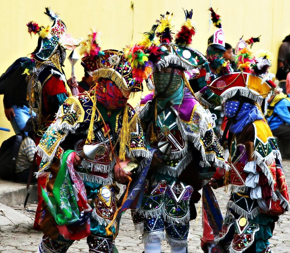 Mayan Festival Dancers by deserttrends