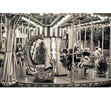 Carousel, Cascais, Portugal Photographic Print