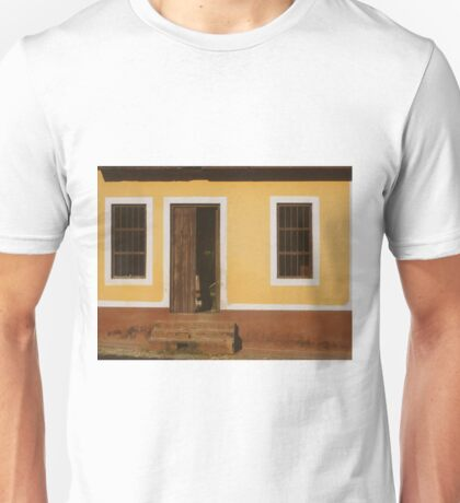A house is made of walls and beams; a home is built with love Unisex T-Shirt