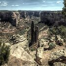 Spider Rock - Canyon de Chelly by Terence Russell