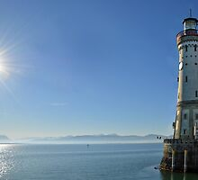 Lighthouse at the Bodensee by Arie Koene