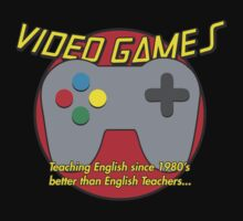 Video Game is better than English Teachers !! by Carousel01