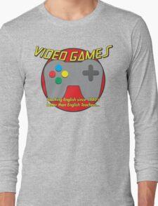 Video Game is better than English Teachers !! T-Shirt