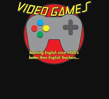 Video Game is better than English Teachers !! Pullover