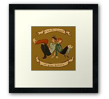 The Strength of Your Beliefs Framed Print
