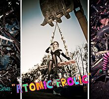 Atomic Frolic Triptych by broaddivision