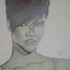 Rihanna by Abby Deakin