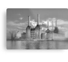 Battersea Power Station London hdr Metal Print
