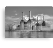 Battersea Power Station London hdr Canvas Print