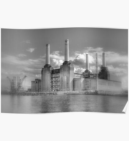 Battersea Power Station London hdr Poster