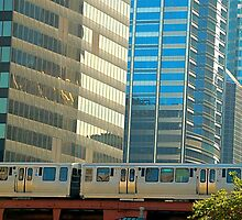 The Chicago EL  by Imagery