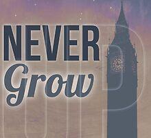 Peter Pan: Never Grow Up by MichaelaDrachen
