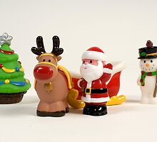 Father Christmas and the Gang by Martin Jones