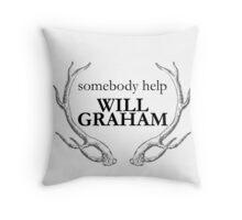 Help Will Graham Throw Pillow