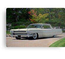 1963 Cadillac Coupe DeVille Metal Print