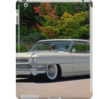 1963 Cadillac Coupe DeVille iPad Case/Skin