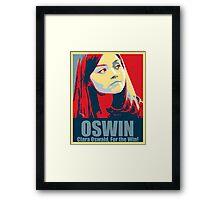 Clara For the Win! Framed Print