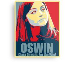 Clara For the Win! Metal Print