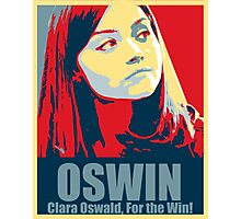 Clara For the Win! Photographic Print