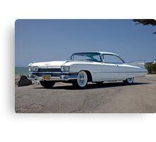 1959 Cadillac Coupe DeVille Canvas Print